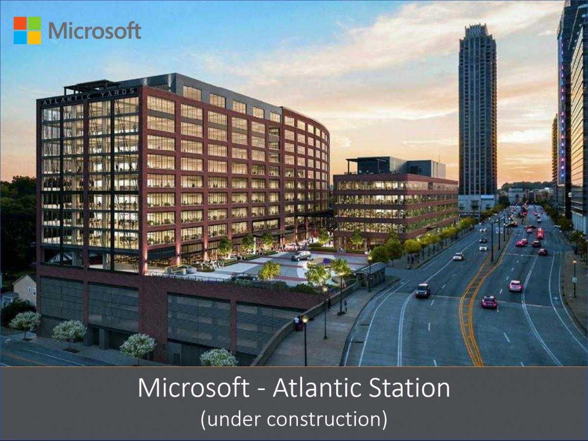 Microsoft Atlantic Station
